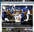 The story I wrote for the Puig package appeared in the carousel on the front page of ESPN.com and the MLB page.